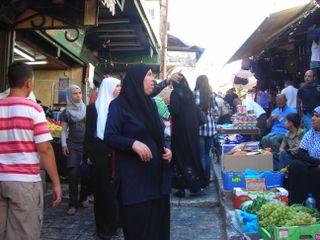 Jérusalem quartier musulman