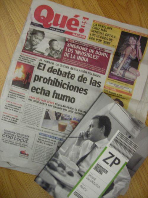 Zapatero y qué