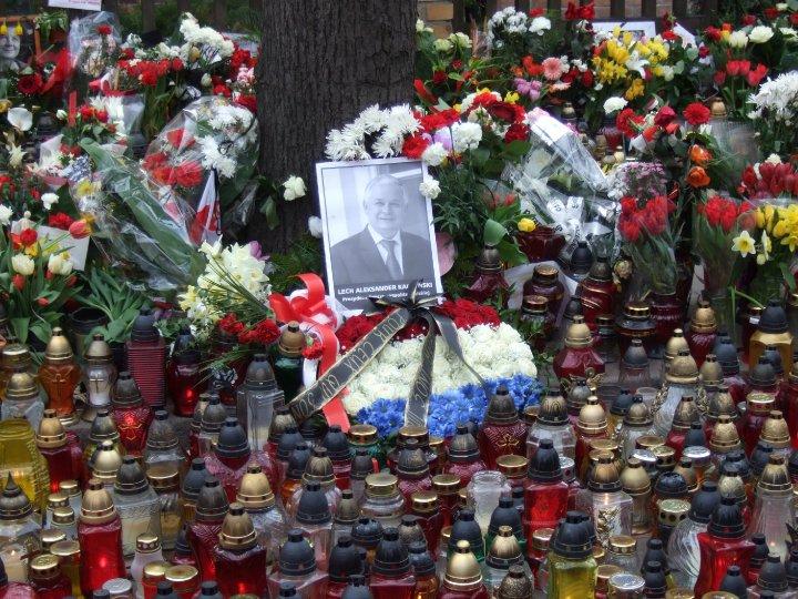 Gdansk hommage Président Kaczynski